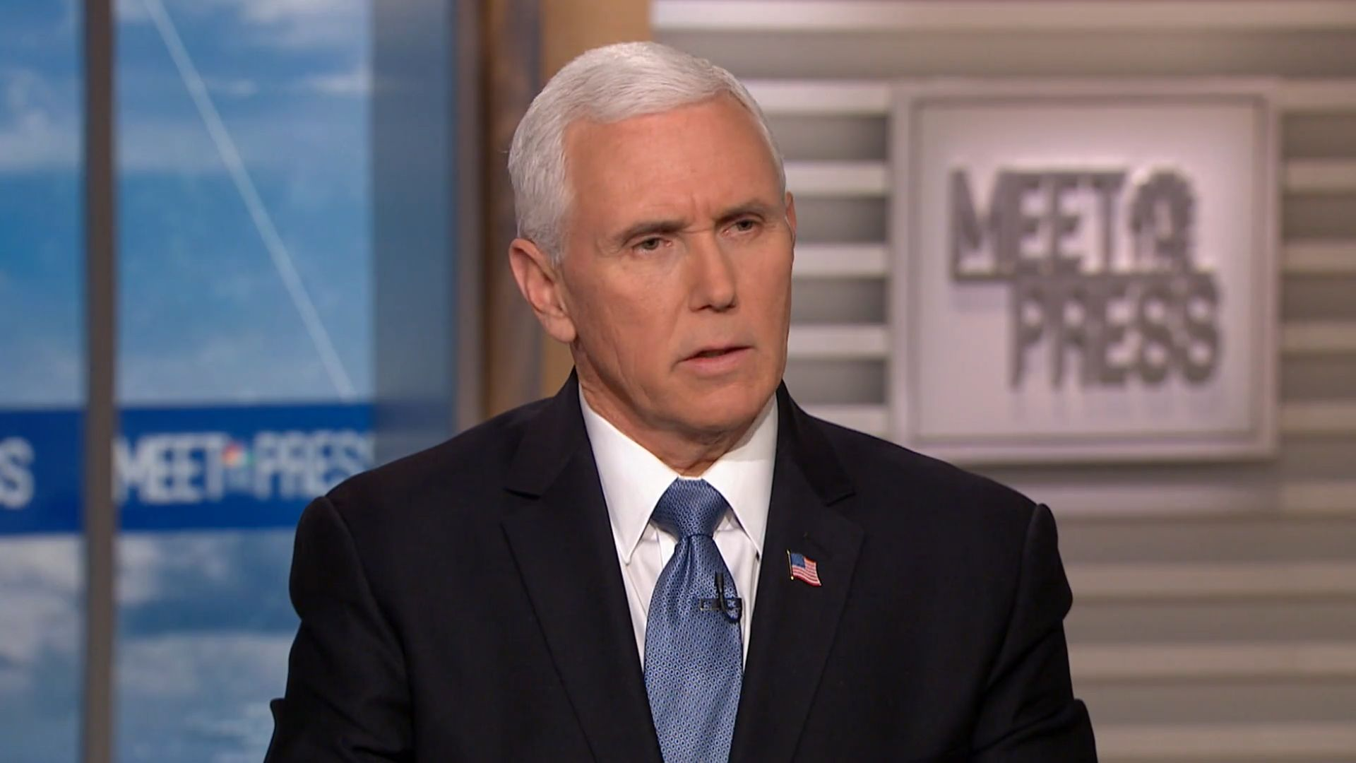 Vice President Mike Pence said Sunday that additional cases ofCOVID-19 in the U.S. are expected though the risk of deat
