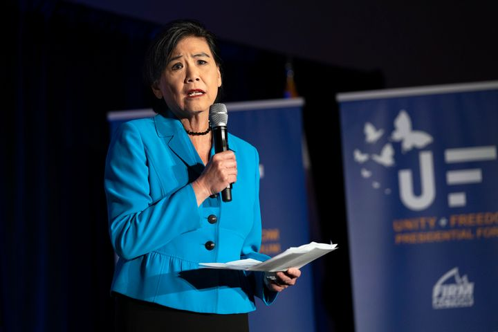 """Rep. Judy Chu (D-Calif.) says House lawmakers hoping to pass a resolution blaming China for the coronavirus are """"putting live"""