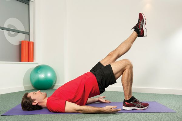 One-leg glute bridge