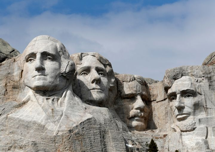 """President Trump argued that Mount Rushmore is incapable of burning because """"it's stone."""" Annual firework displays haven't tak"""