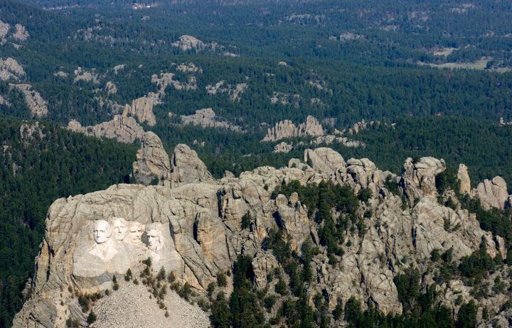 A 2016 U.S. Geological Survey report found that Mount Rushmore's annual fireworks displays were the probable cause of e