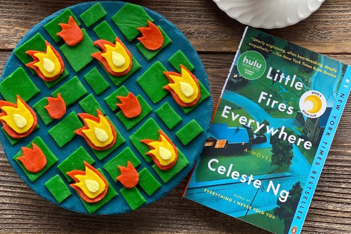 Pie Lady Books Little Fires Everywhere pie