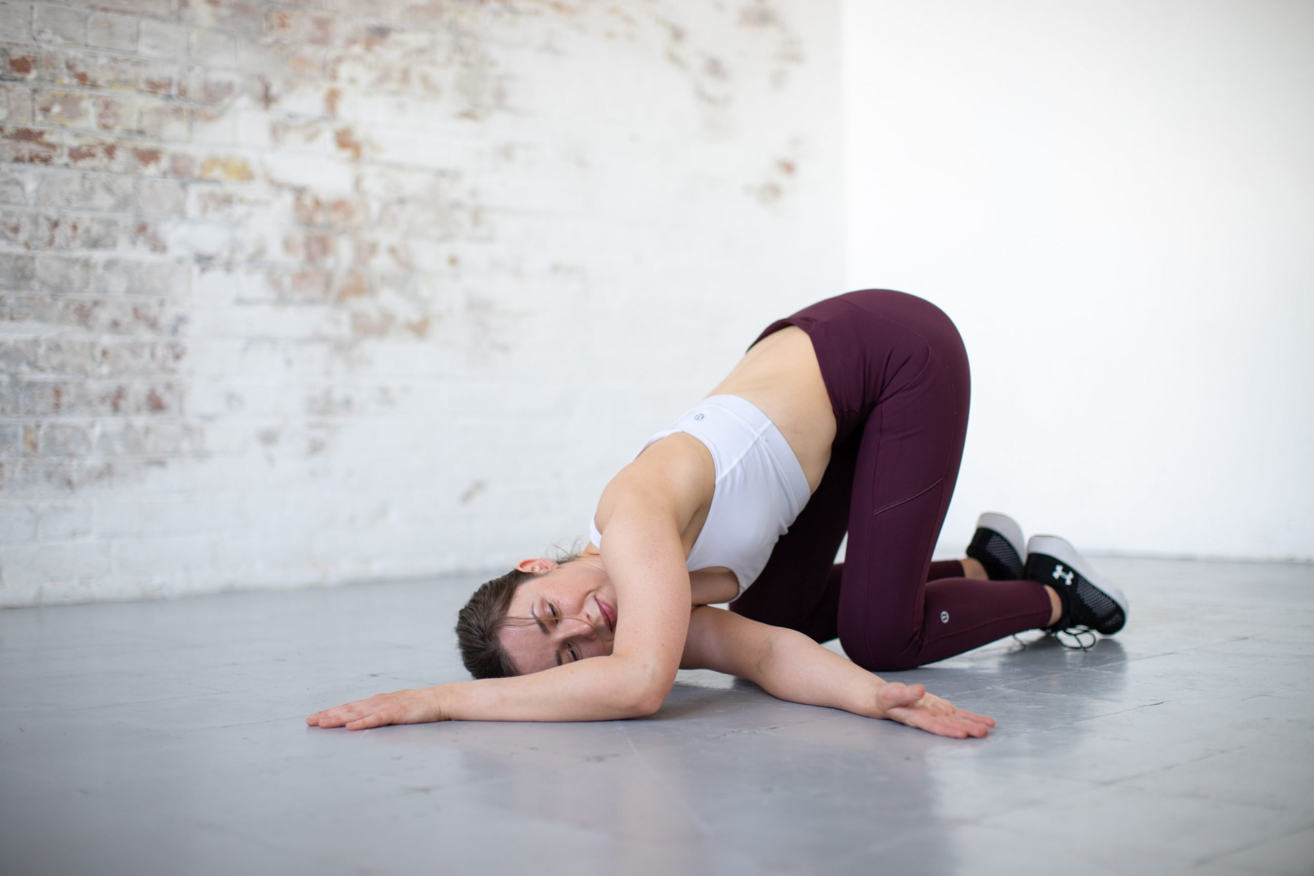 Finola back stretches 2