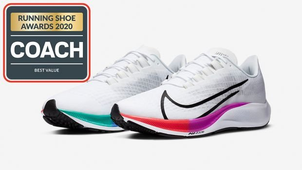 Coach Running Shoe Awards Best Value Nike Air Zoom Pegasus 37