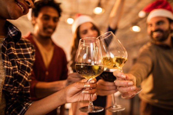 drinking at christmas, christmas stress, by healthista.com