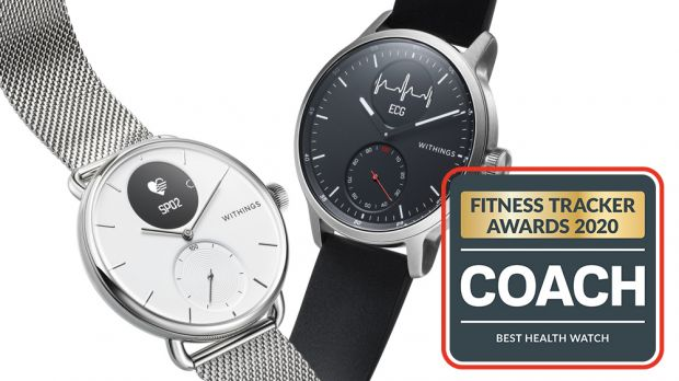 Coach Fitness Tracker Awards 2020 – Best Health Watch: Withings ScanWatch