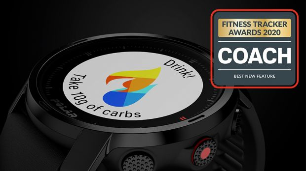 Coach Fitness Tracker Awards 2020 – Best New Feature: FuelWise on Polar Grit X and Polar Vantage V2