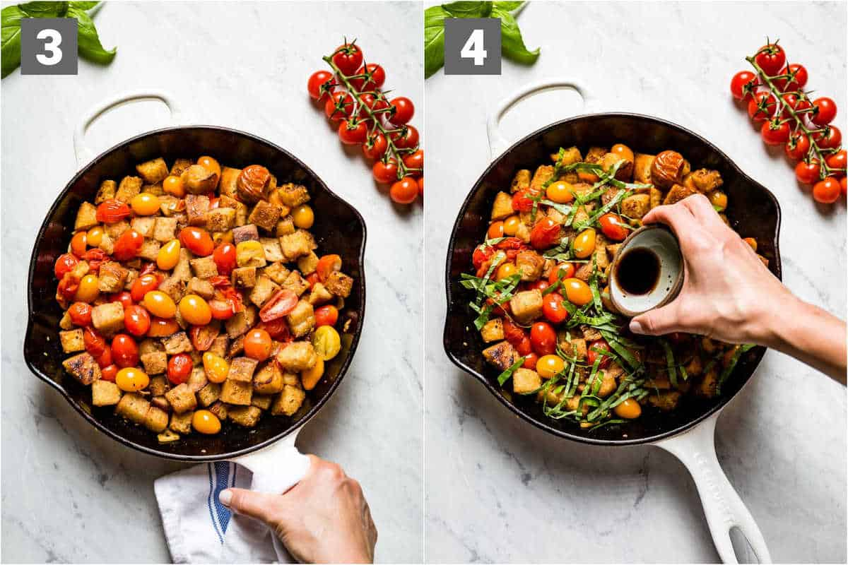 cook the cherry tomatoes until they start to burst