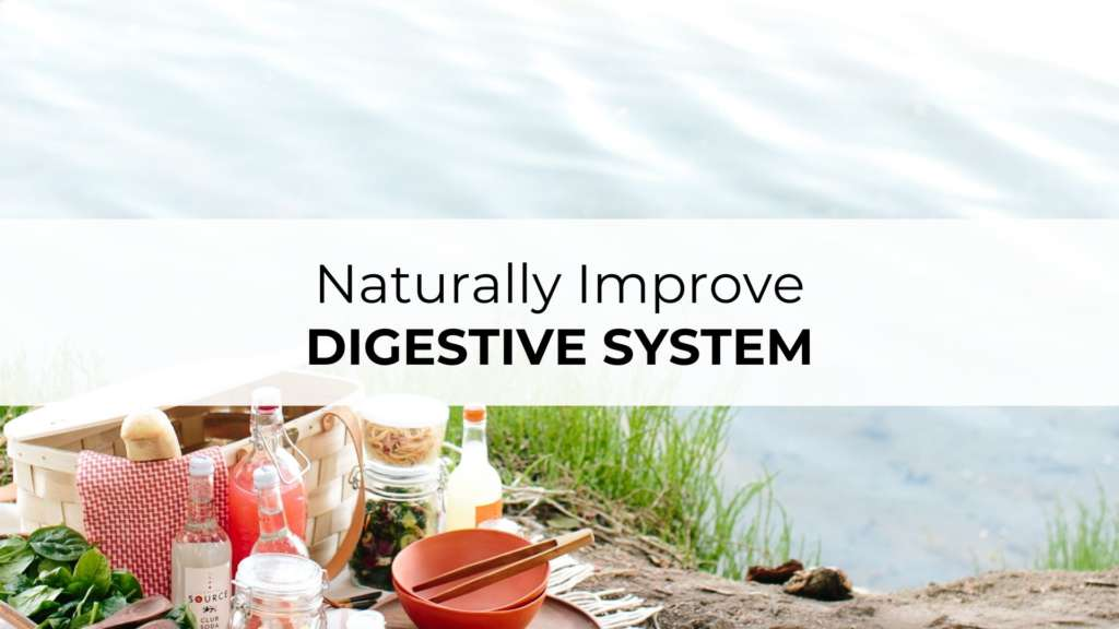 image of naturally improve digestive system